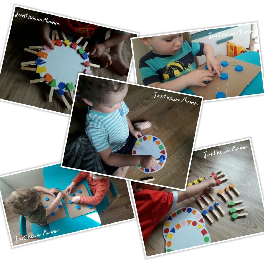 Kreatywne zabawy dla dzieci z nakrętek i klamrek