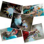 Kreatywne zabawy dla dzieci z nakrętek i klamerek.